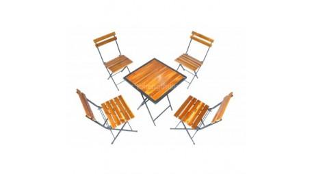 Mua bàn ghế cafe gỗ thông pallet giá rẻ tại Hà Nội