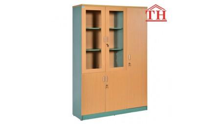Kiểu tủ đựng tài liệu bằng gỗ hiện đại, giá rẻ nhất