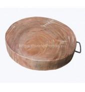 Thớt gỗ nghiến đường kính 30
