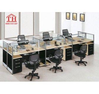 Mua mẫu bàn văn phòng giá rẻ, đẹp dễ trang trí nhất