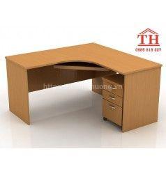 Bàn gỗ ép văn phòng cao cấp giá rẻ tại Hà Nội