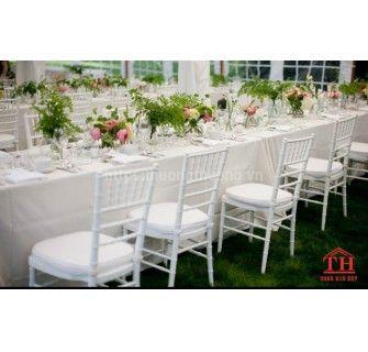 Giá bán ghế chiavari tiffany rẻ cho đám cưới, hội nghị
