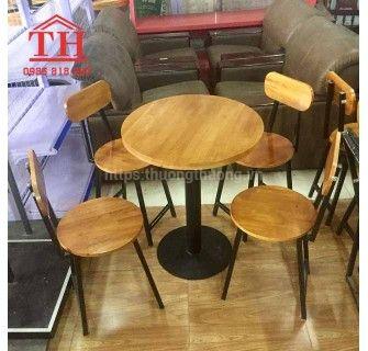 Bàn ghế cà phê gỗ giá rẻ chất lượng cao cực kì sang trọng