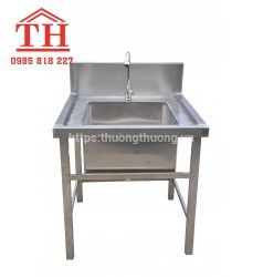 Bồn chậu rửa inox công nghiệp giá rẻ chính hãng