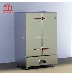 Tủ nấu cơm công nghiệp 50kg, 30kg đựng được từ 6-24 khay