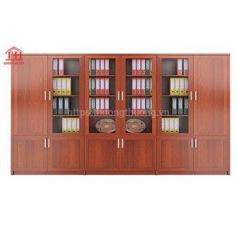 Tủ Hồ Sơ Gỗ - Mẫu Tủ gỗ đựng Hồ Sơ, Tài Liệu Văn Phòng