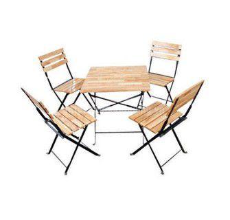 Bộ bàn ghế cafe gấp