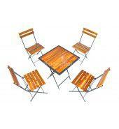 Bàn ghế cafe gỗ thông pallet mua ở đâu giá rẻ?