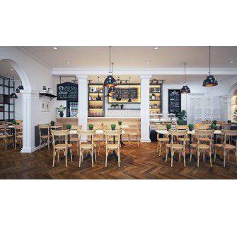 100+ mẫu ghế cafe gỗ đẹp miễn chê